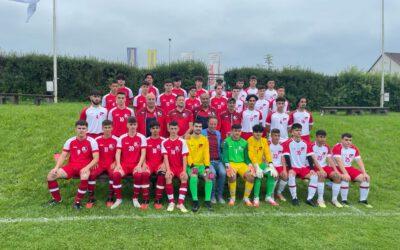 EUROPÄISCHER TÜRKISCHER FUßBALLVERBAND TFF U17 Vorspiel fand statt!